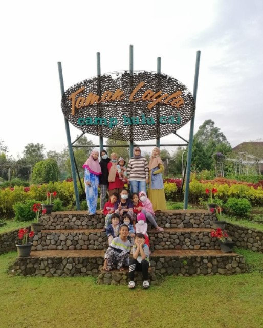 objek wisata camp hulu cai