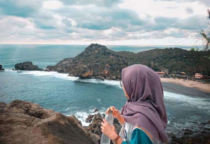 rute lokasi pantai sundak gunung kidul yogyakarta