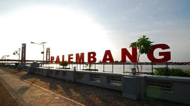 lokasi wisata kota palembang