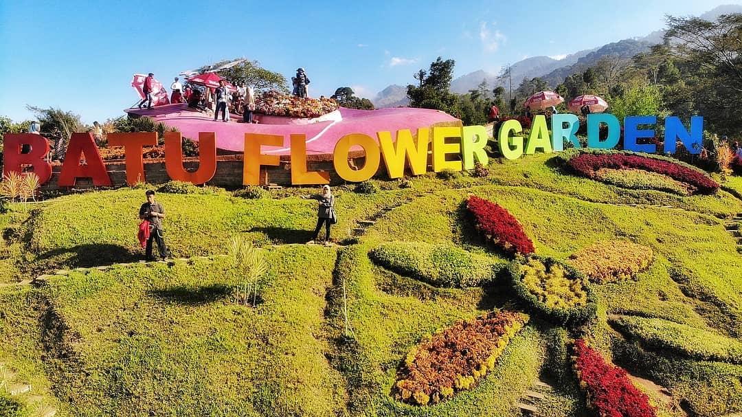 batu flower garden