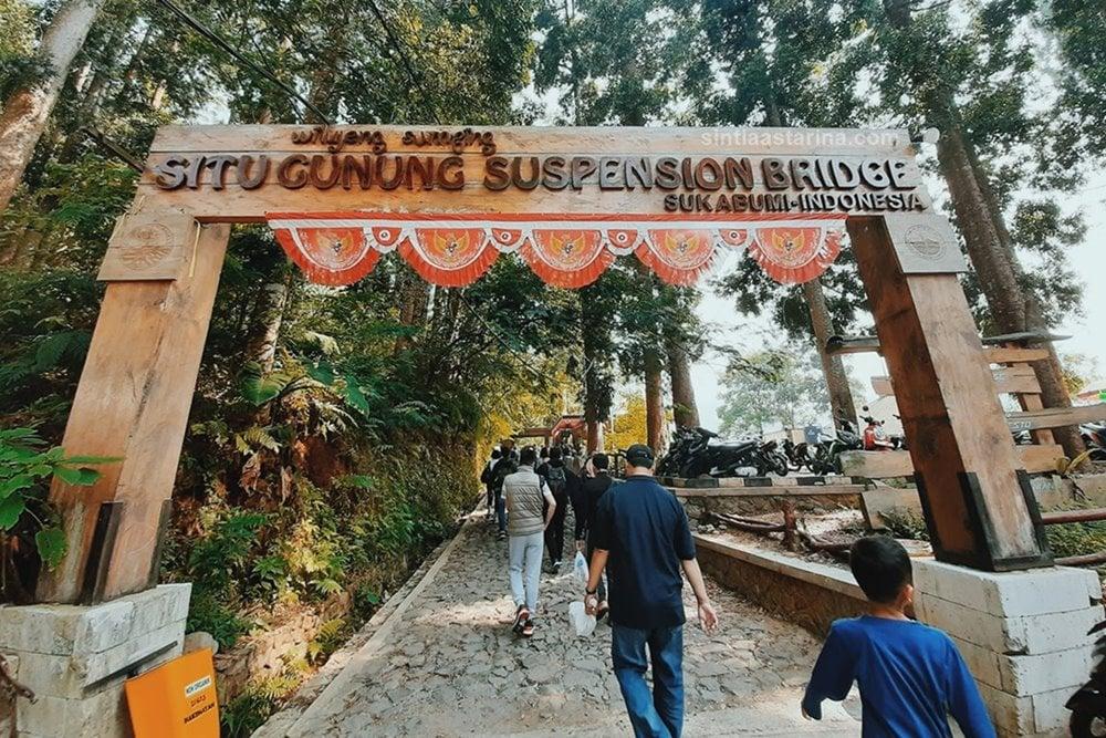 Situ gunung tempat wisata sukabumi
